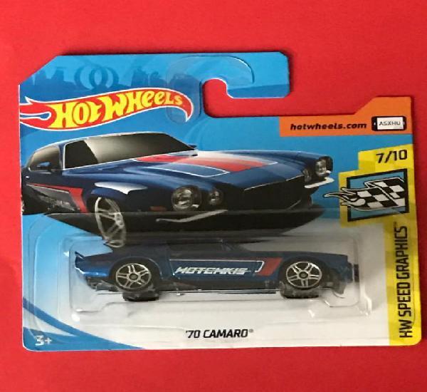 Hot wheels 2018 153/365 - ´70 camaro - speed graphics 7/10
