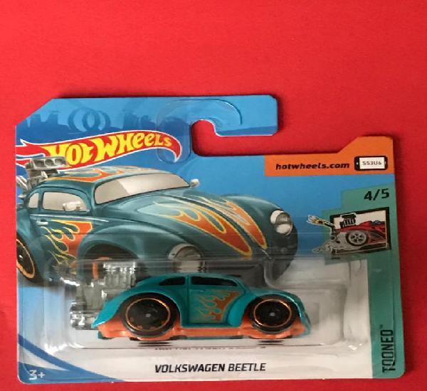 Hot wheels 2018 347/365 - volkswagen beetle - tooned 4/5 -