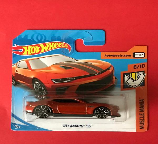 Hot wheels 2018 50/365 - ´18 camaro ss - muscle mania 8/10
