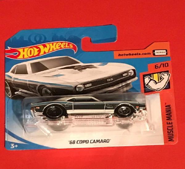Hot wheels 2019 181/250 - ´68 copo camaro - muscle mania