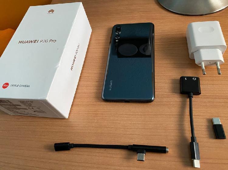 Huawei p20 pro 128gb no envio solo trato en mano