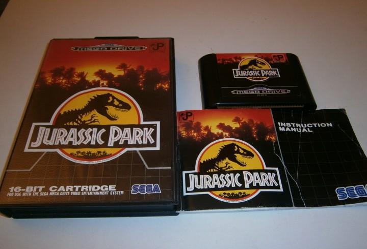 Jurassic park megadrive pal completo