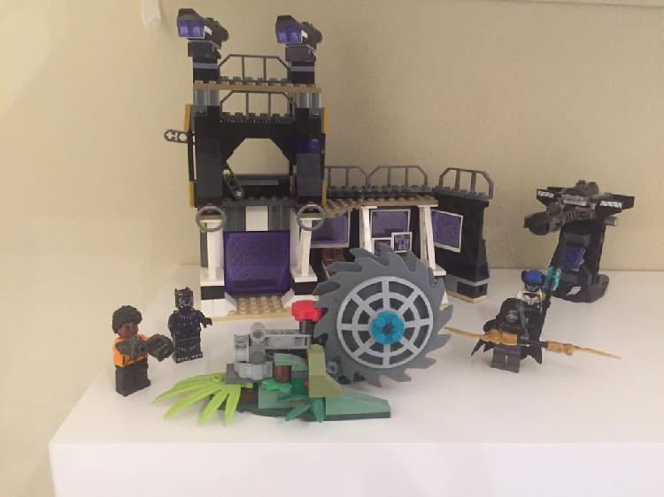 Lego wakanda de marvel