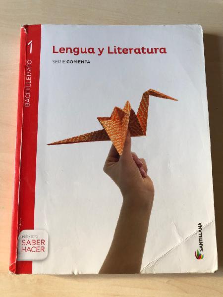 Lengua y literatura 1o bachillerato santillana