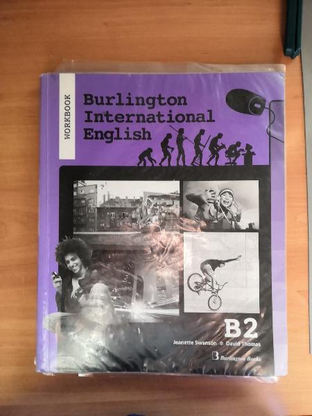 Libro inglés/ burlington international english b2