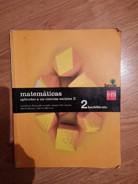 Matemáticas 2ºbachillerato