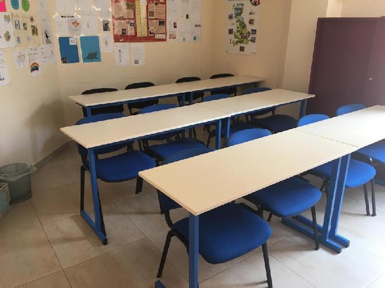 Mesas para academia o centro de formación