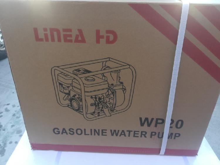 Motobomba de agua a gasolina completamente nueva