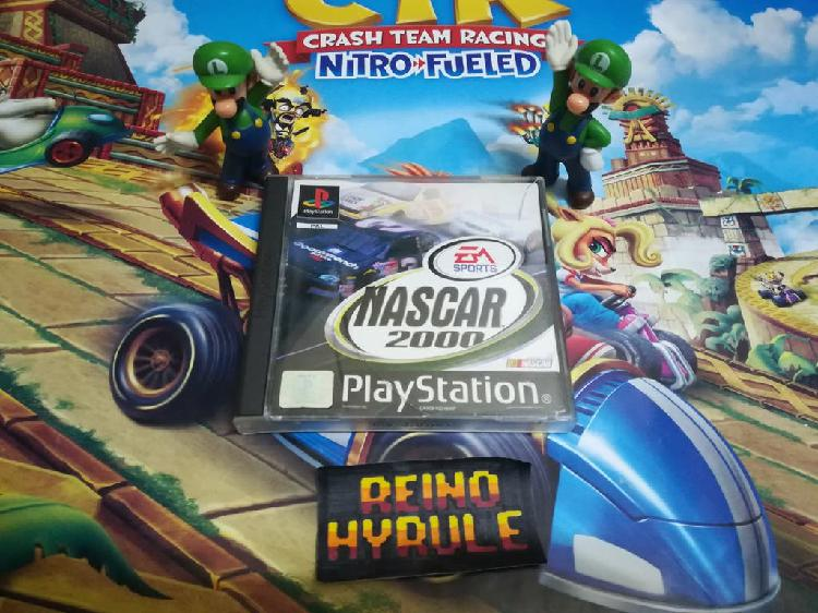 Nascar 2000 ps1 psx psone ps2 ps playstation