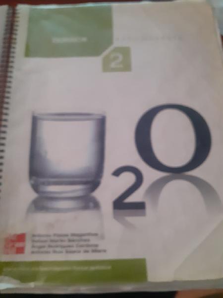 Química 2 bachillerato