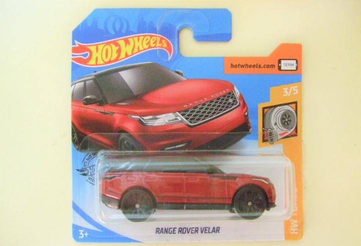 Range rover velar - hot wheels mattel hw turbo 3/5 2020