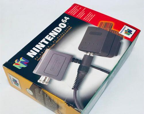 Rf switch / rf modulator / adaptador de antena [nintendo 64]