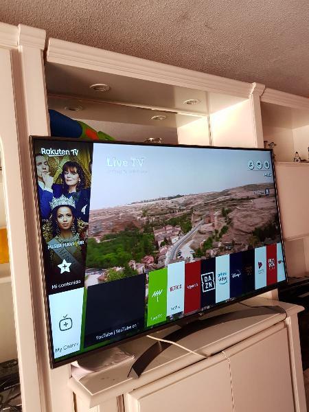 Smart tv lg uhd 4k 54 uhd a tu domicilio