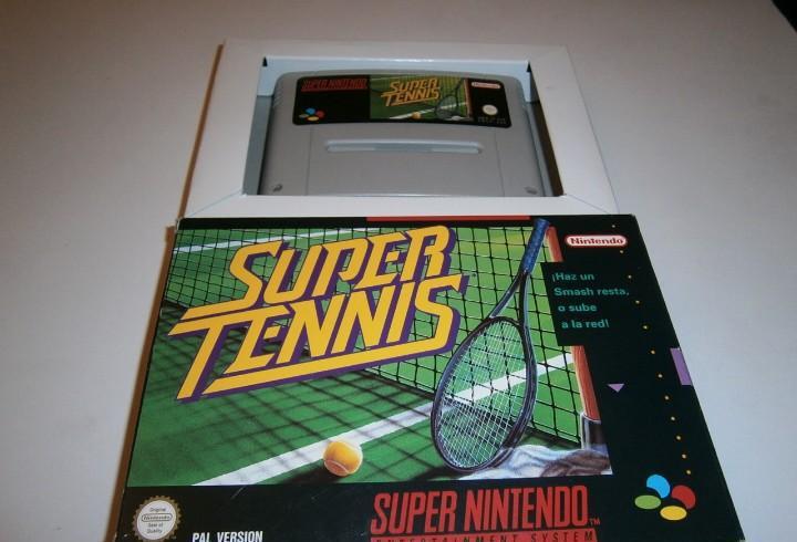 Super tennis super nintendo snes pal españa