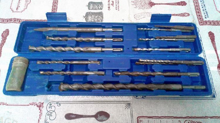 Set de brocas para taladro de percusión