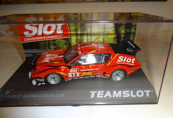 Team slot. alpine a310 gr.5 v6. masslot 2013. ed.lta. ref.