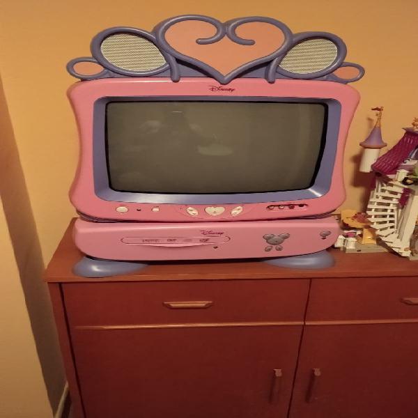 Televisor con reproductor de cd