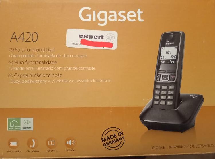 Teléfono inalámbrico gigaset a420