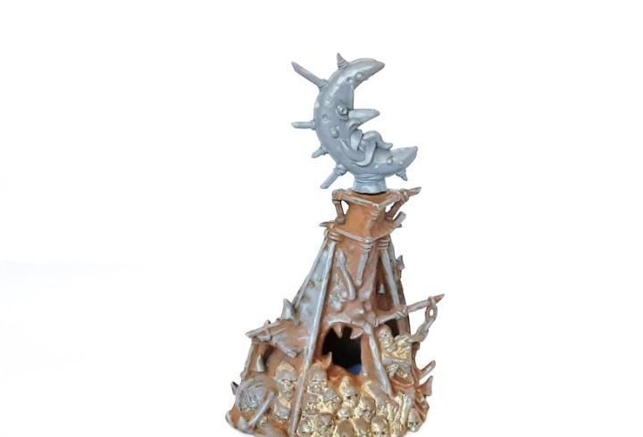Warhammer fantasy escenografia idolo de morko año 2006