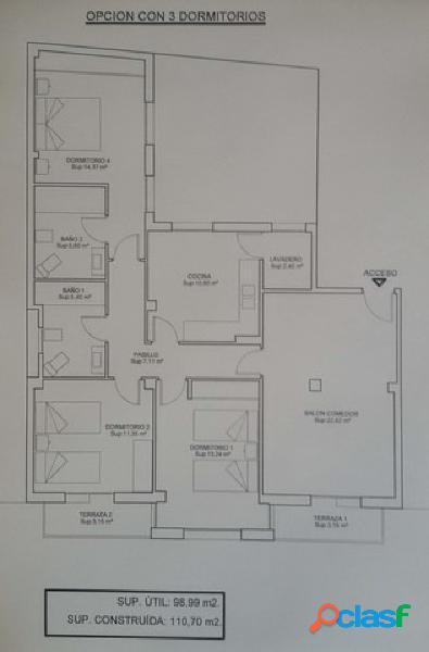 Estupendo piso para reformar en la zona centro de albacete