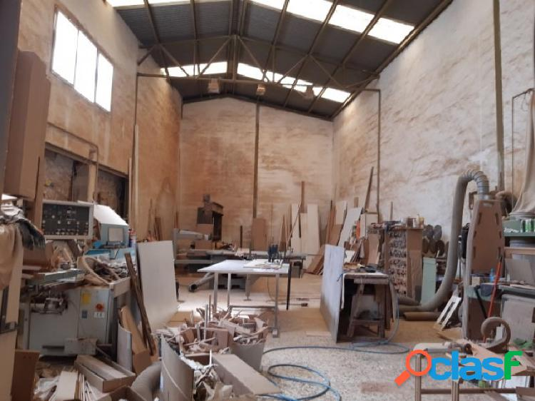 Nave industrial carpinteria