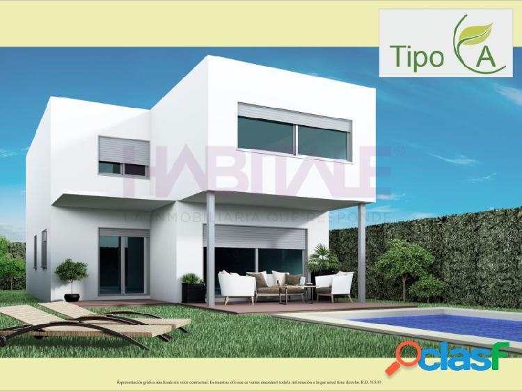 Nueva promoción de viviendas independientes en urbanización alfinach de puzol