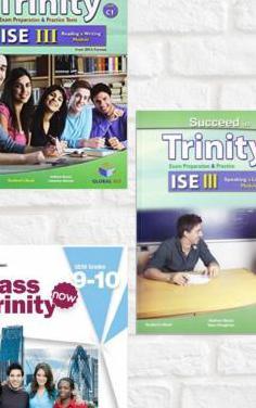 3 libros inglés trinity ise iii c1