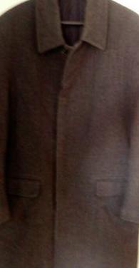 Abrigo hombre de paño zara.(talla l)