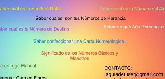 Curso de numerología kármica