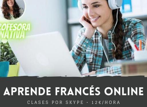 Clase de francés online