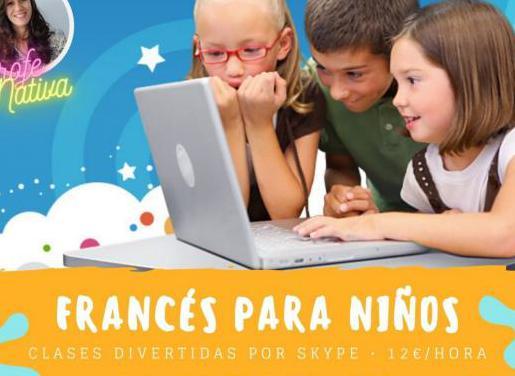 Clase de francés para niños