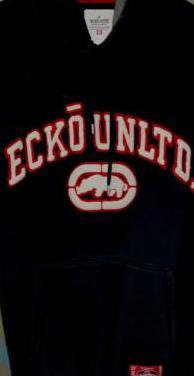 Ecko sudadera negra difícil de encontrar