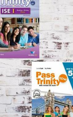 Libros examen inglés trinity ise i b1