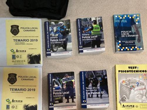 Policia local temario