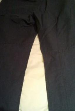 Pantalón corduras gris marengo decathlon talla 42