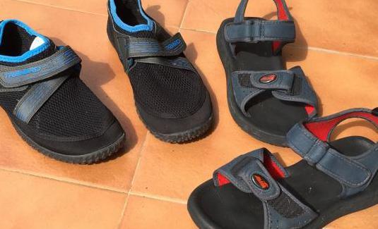 Sandalias de goma. art 3x2