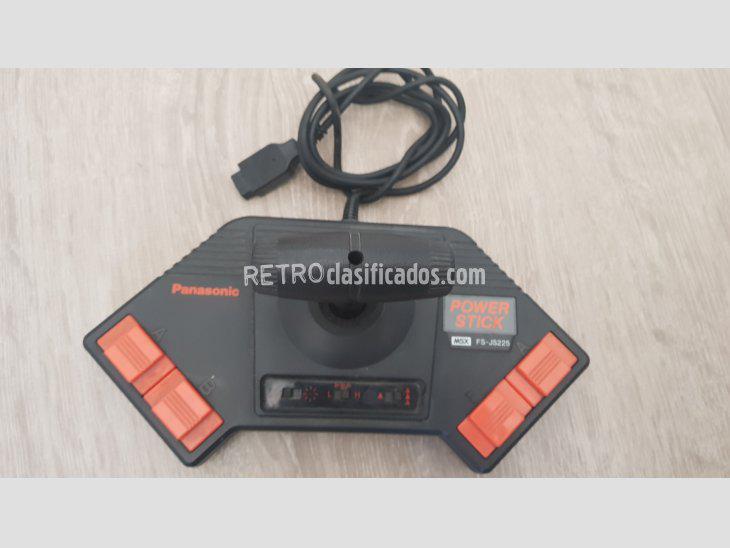 Se vende panasonic power stick msx fs-js225 verificado