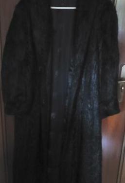 Abrigo piel de nutria autentico