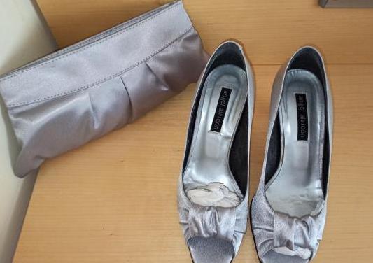Bolso y zapatos de fiesta