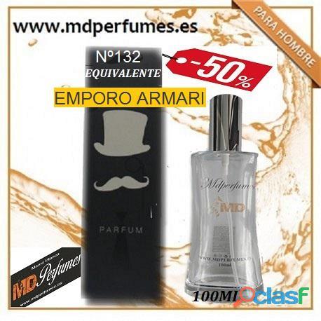 Oferta Perfume Hombre Nº132 EMPORO ARMARI Alta Gama 100ml 10€