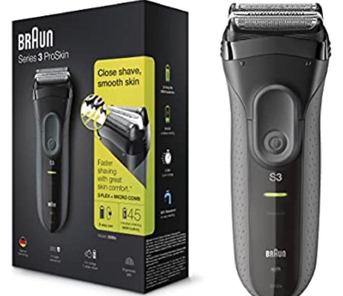 Braun series 3 proskin 3000 s - afeitadora