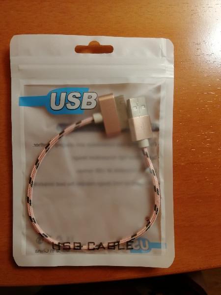 Cable carga usb iphone