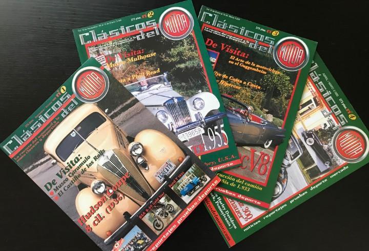 Clasicos del motor - lote 4 primeros numeros revistas - ford