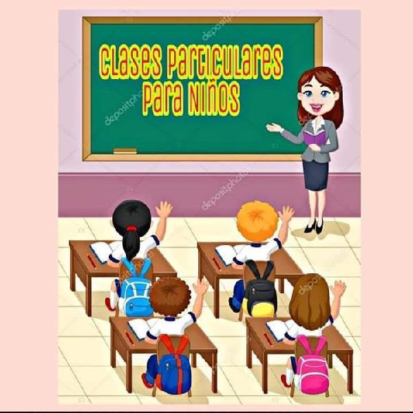 Clases particulares primaria en sestao