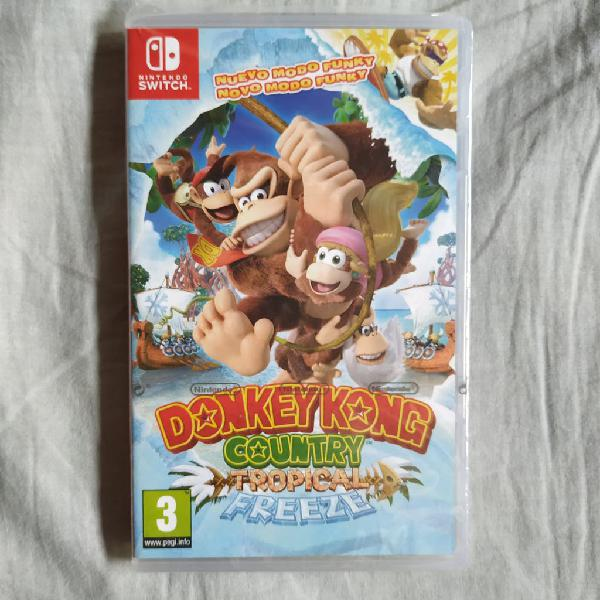 Donkey Kong Country: Tropical Freeze PAL ES