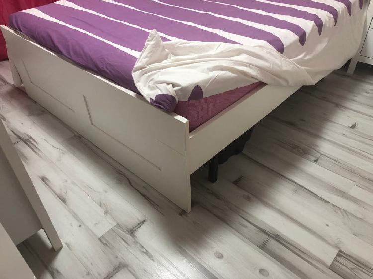 Estructura cama y somier con patas