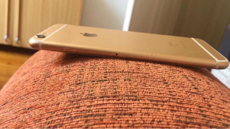 Iphone 6s plus dorado como nuevo
