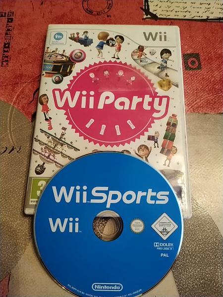 Juegos wii party y wii sports