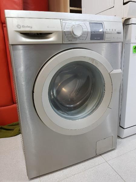 Lavadora balay gris 7kg segundamano
