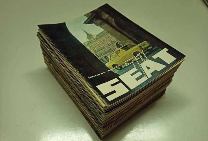 Lote 50 revistas seat 1969-1977